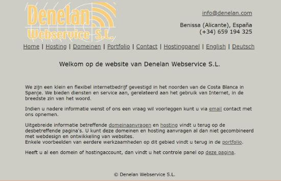 Denelan Webservice SL